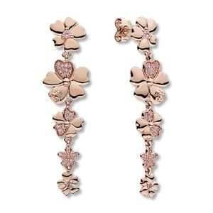 Pandora Wildflower Meadow Drop Earrings